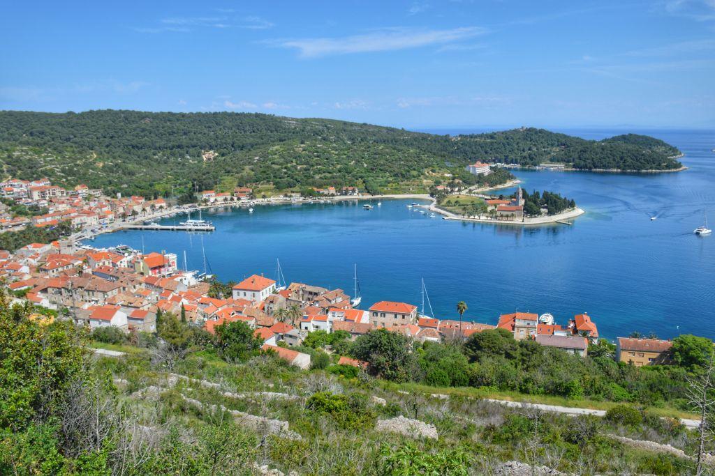 Baai van Vis Kroatie
