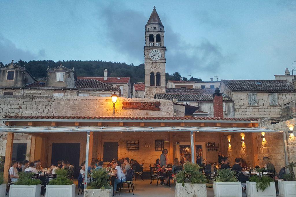 Restaurant Kut Vis Kroatie