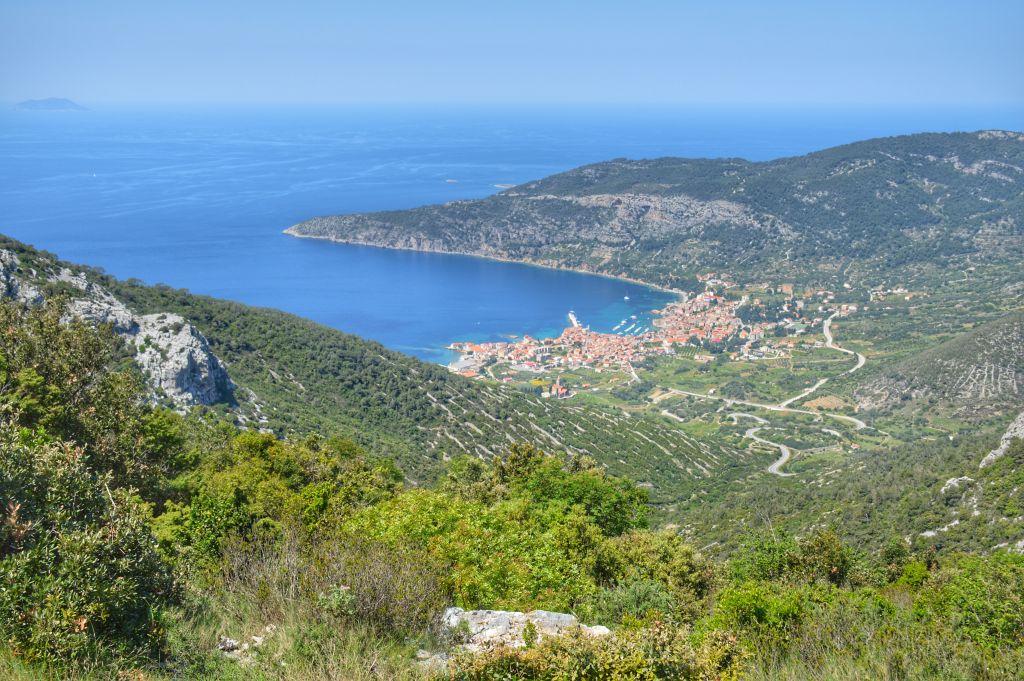 Mount Hum Vis Kroatie