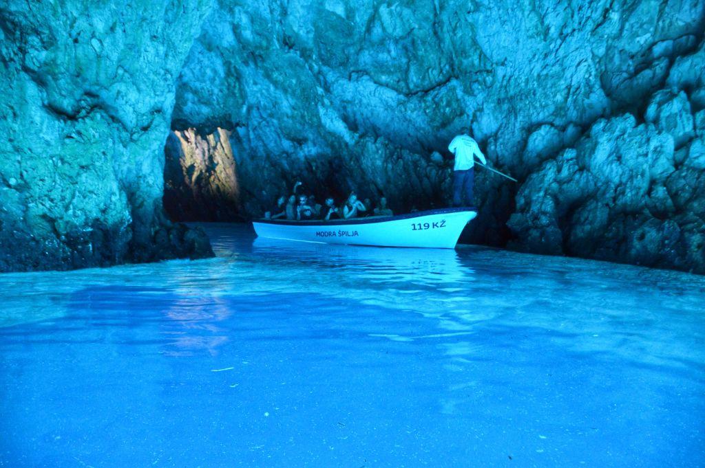 Blue Cave Bisevo Vis Kroatie