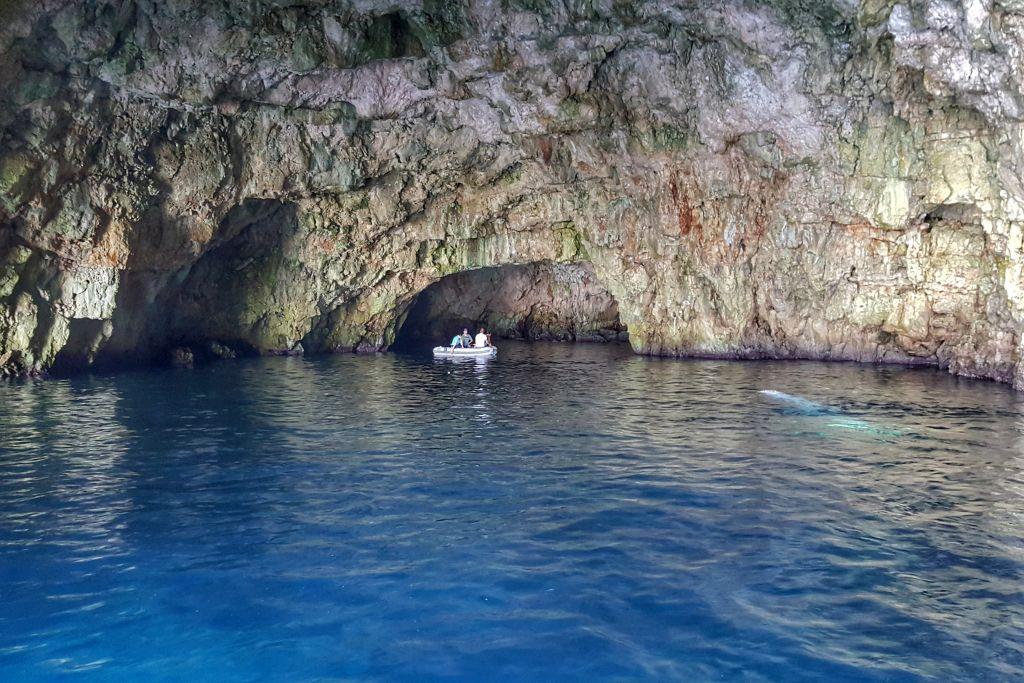 Green Cave Vis Kroatie