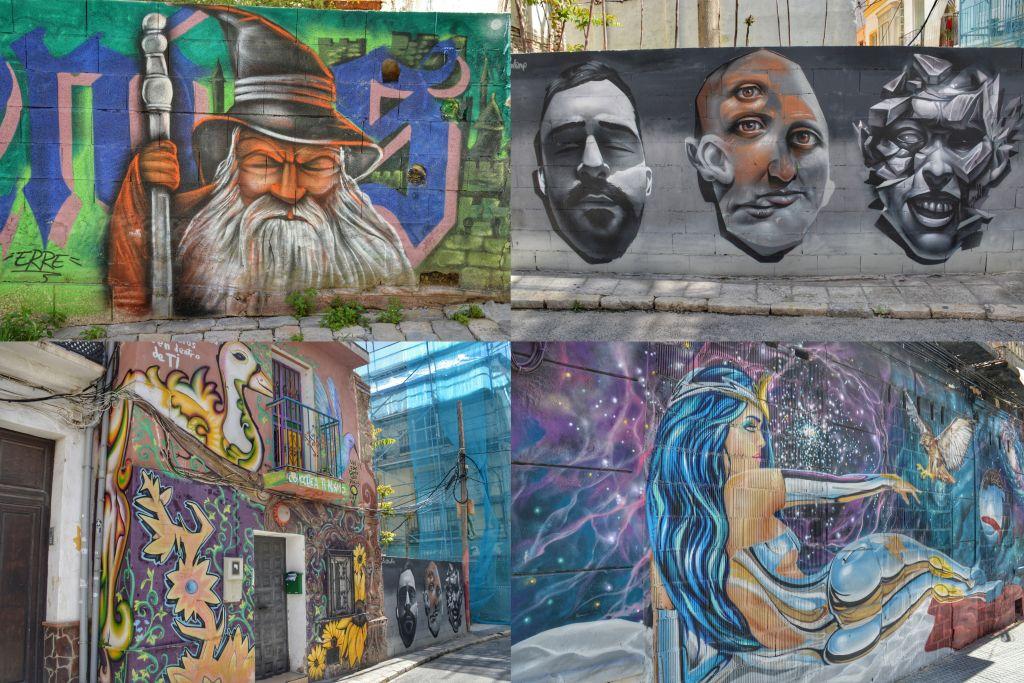 Malaga Streetart Lagunallis