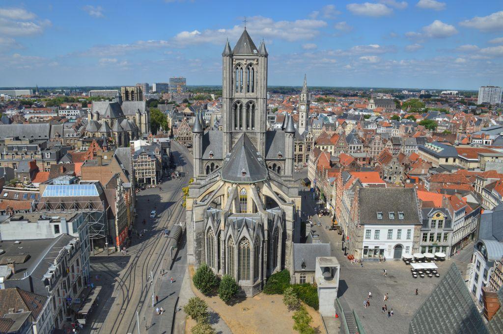 Uitzicht Belfort Gent