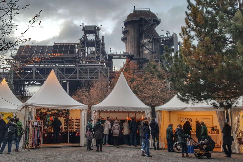 Kerstmarkt Landschaftspark Duisburg