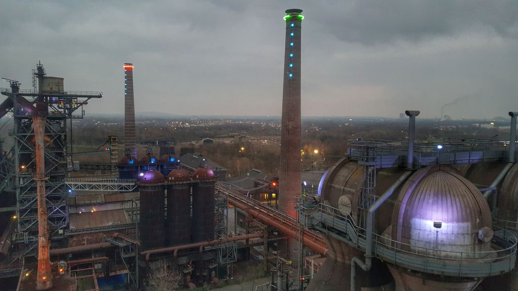 Uitzicht Landschaftspark Duisburg