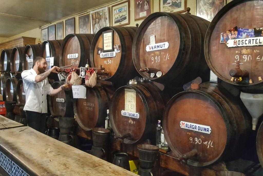 wijn bodega Malaga