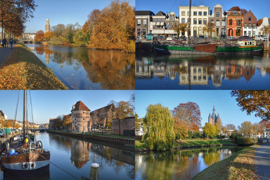 Stervormige gracht Zwolle