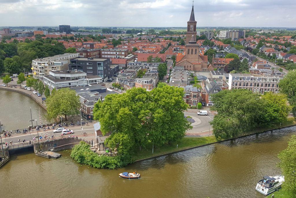 Uitzicht Leeuwarden
