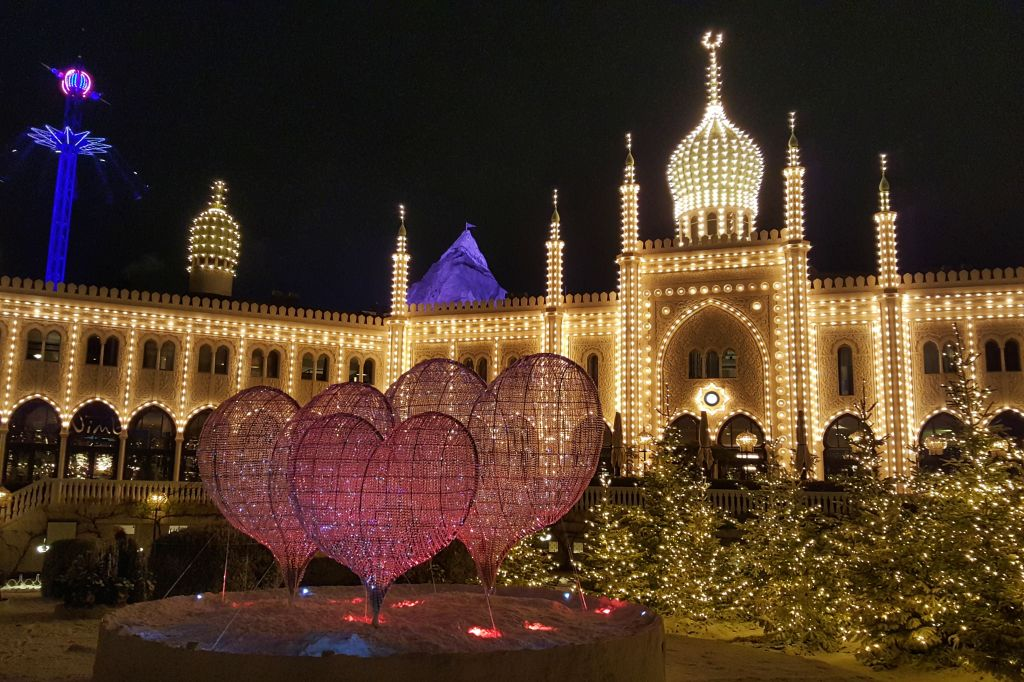 Kerst in Tivoli Kopenhagen