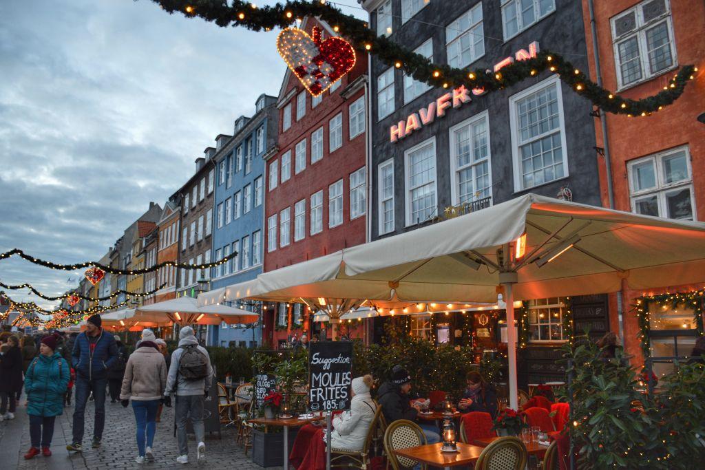 Kerstmarkt Nyhavn Kopenhagen