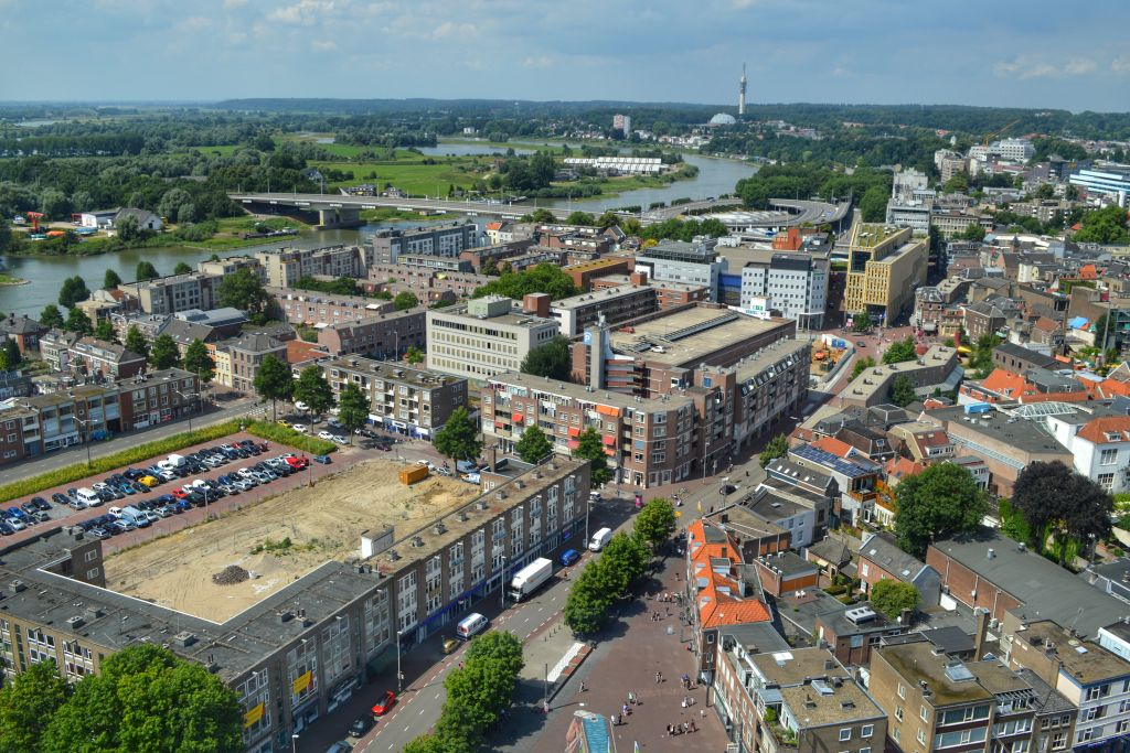 Uitzicht Arnhem van Eusebiuskerk