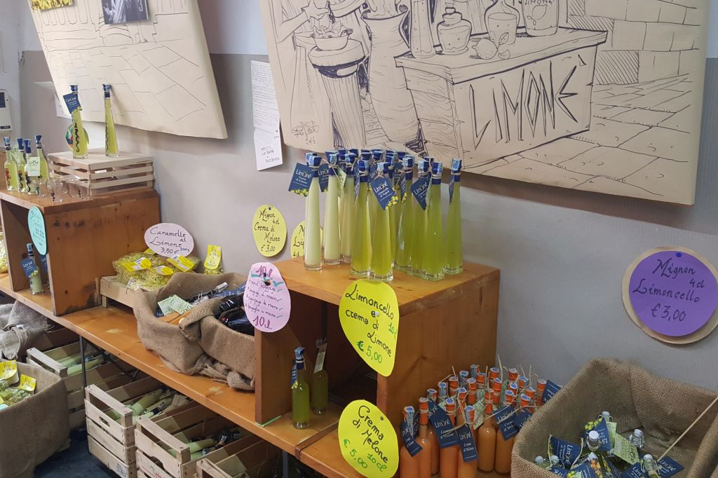 Limoncellofabriek Limone - Napels