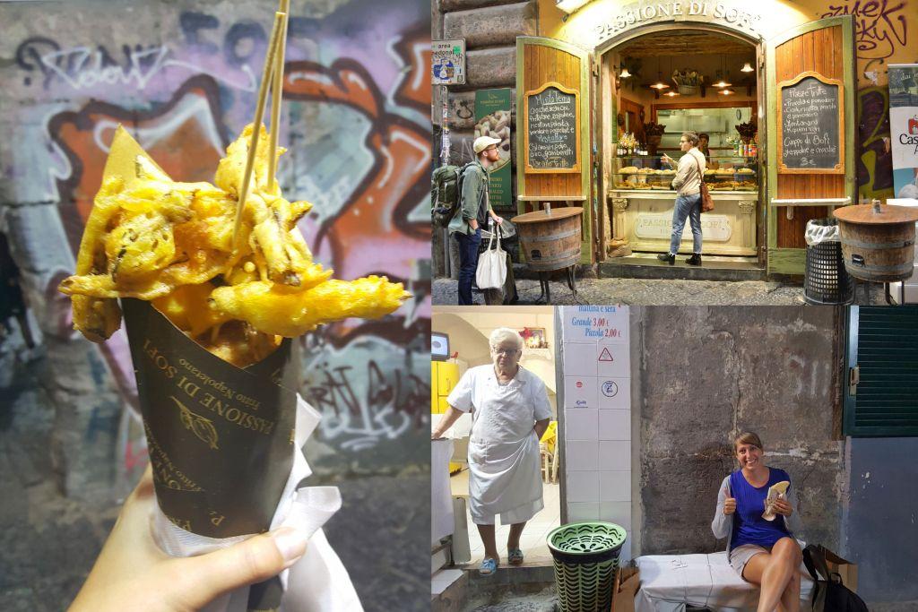Streetfood Napels