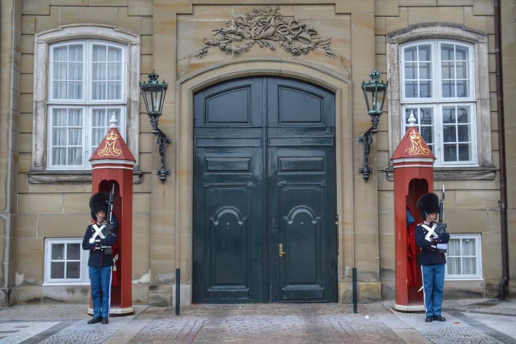 Amelienborg Slot Kopenhagen