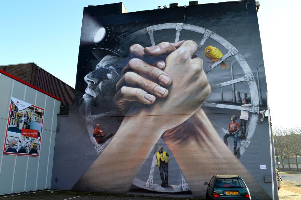 Mooiste plekken Limburg: muurschilderingen in Heerlen