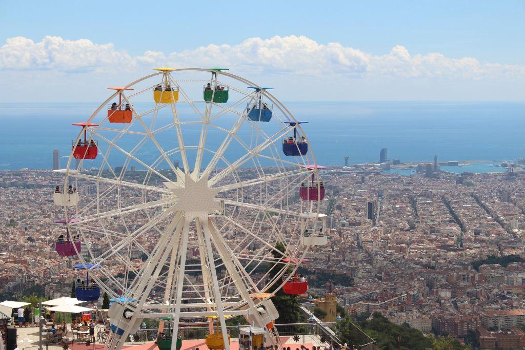 Uitzicht Barcelona