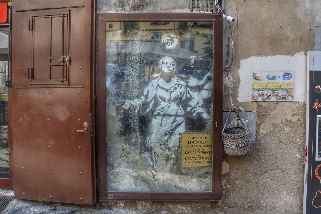 Banksy Napels