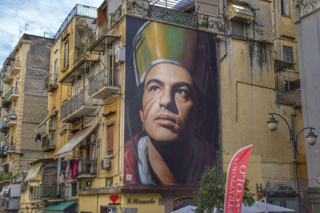 Mural San Gennaro Napels