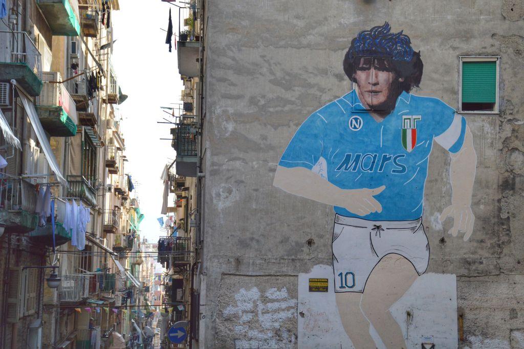 Mural Maradona Napels