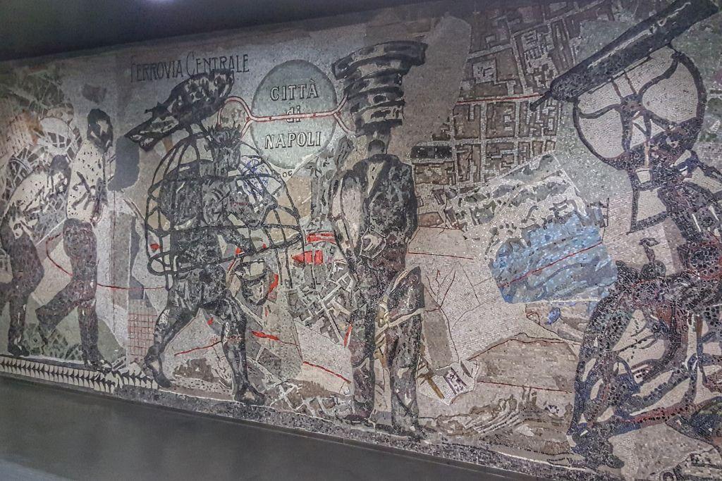 Metrostation Toledo Napels