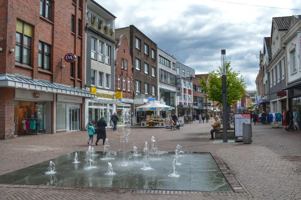 Winkelen in Nordhorn Duitsland