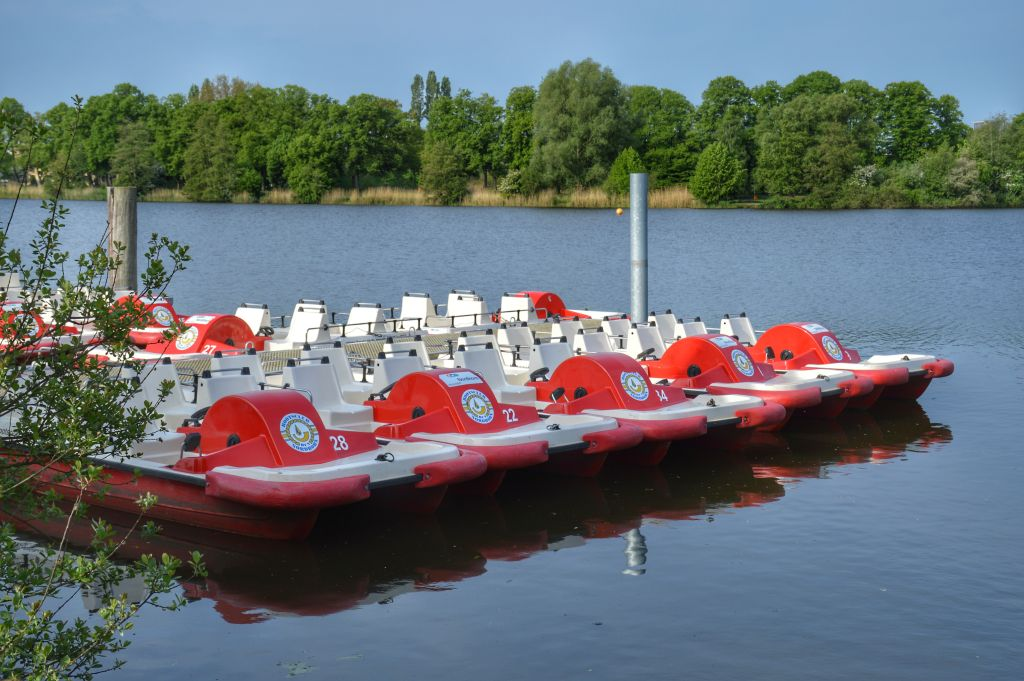 Waterfietsen Nordhorn