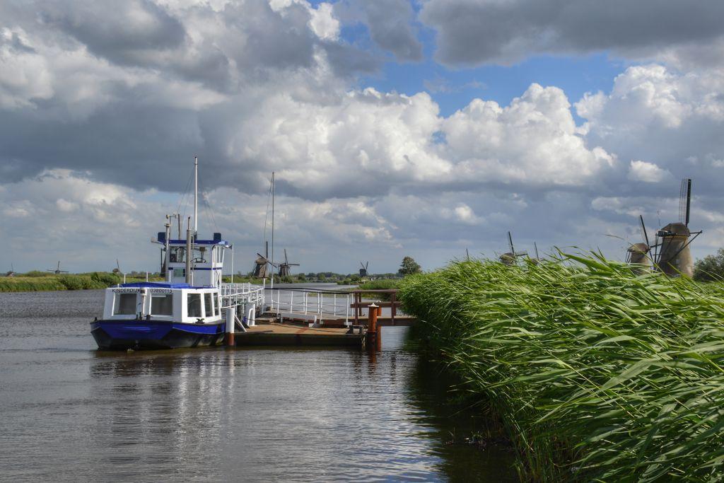 Rondvaartboot Kinderdijk