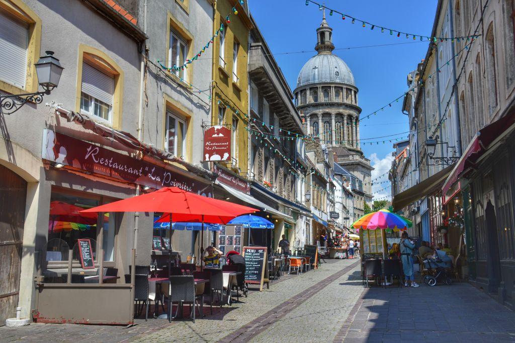 Historische centrum Boulogne-sur-Mer