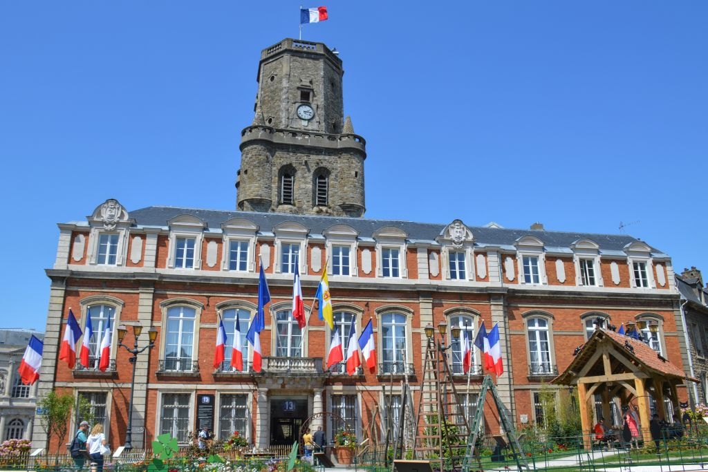 Stadhuis en Belfort Boulogne-sur-Mer