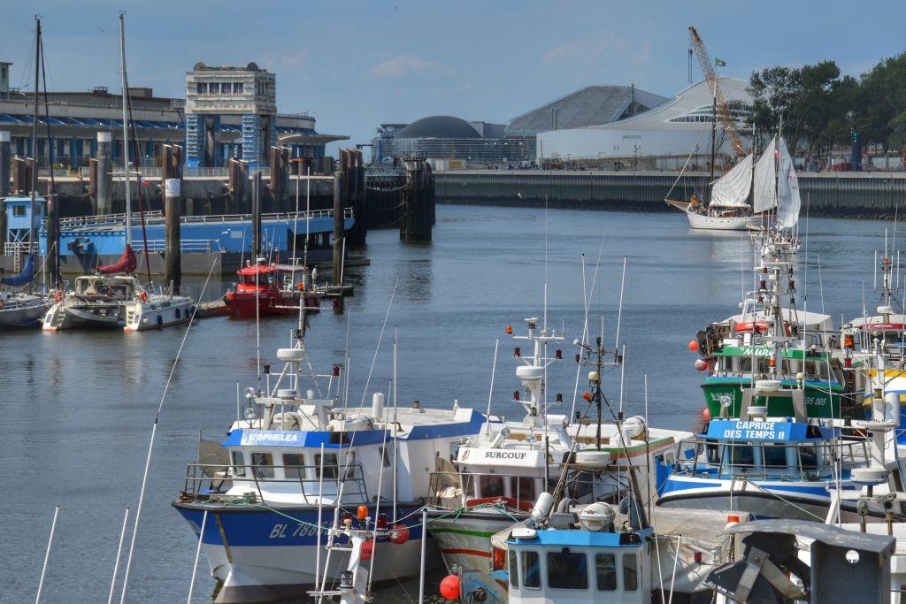 Nausicaa in de haven van Boulogne