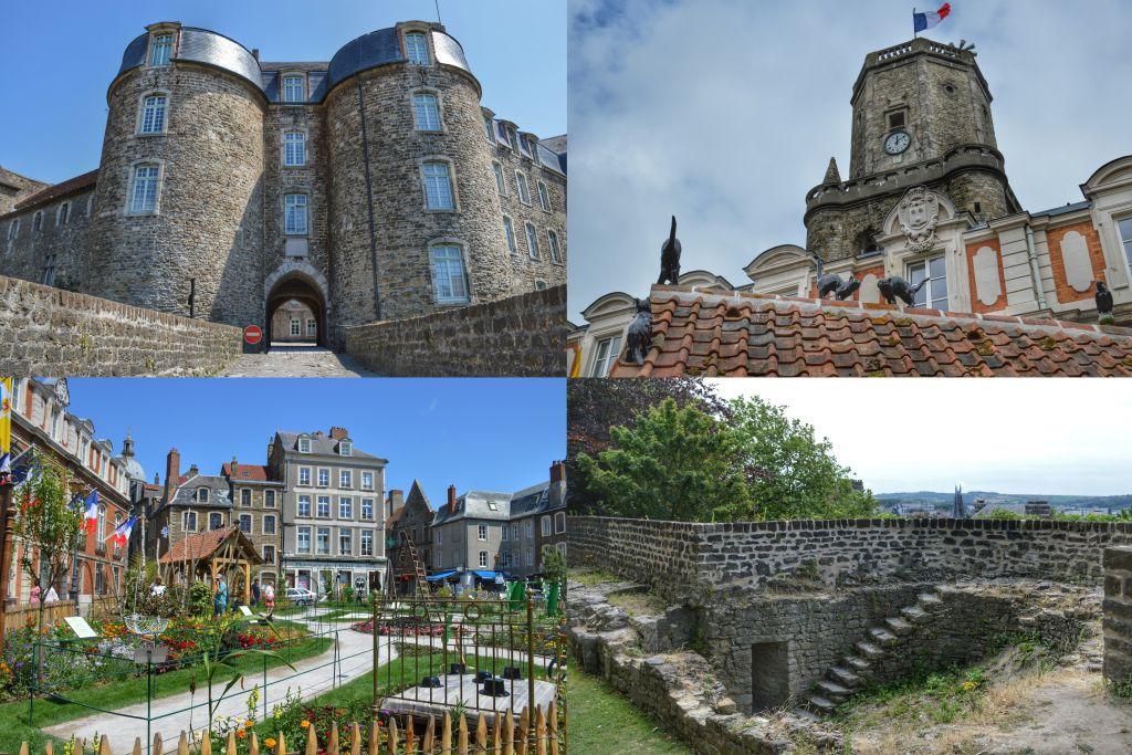 Ommuurde bovenstad Boulogne-sur-Mer