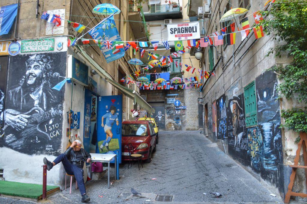 Quartieri Spagnoli - Napels