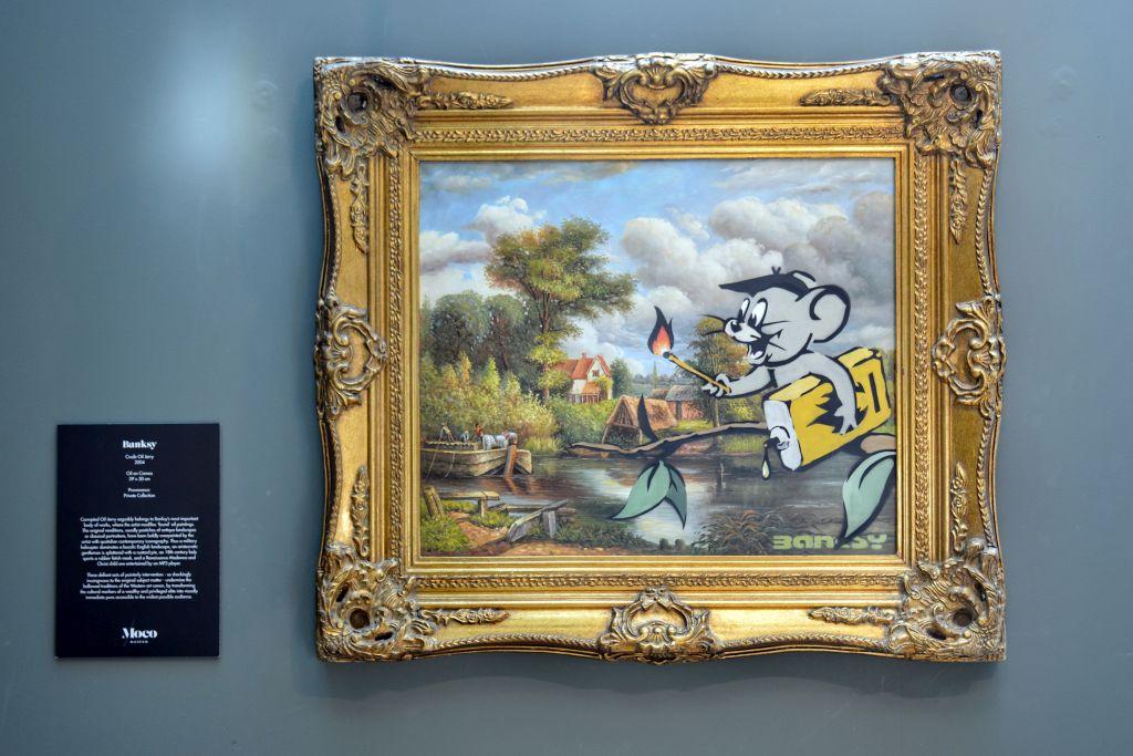 Banksy in het Moco Museum