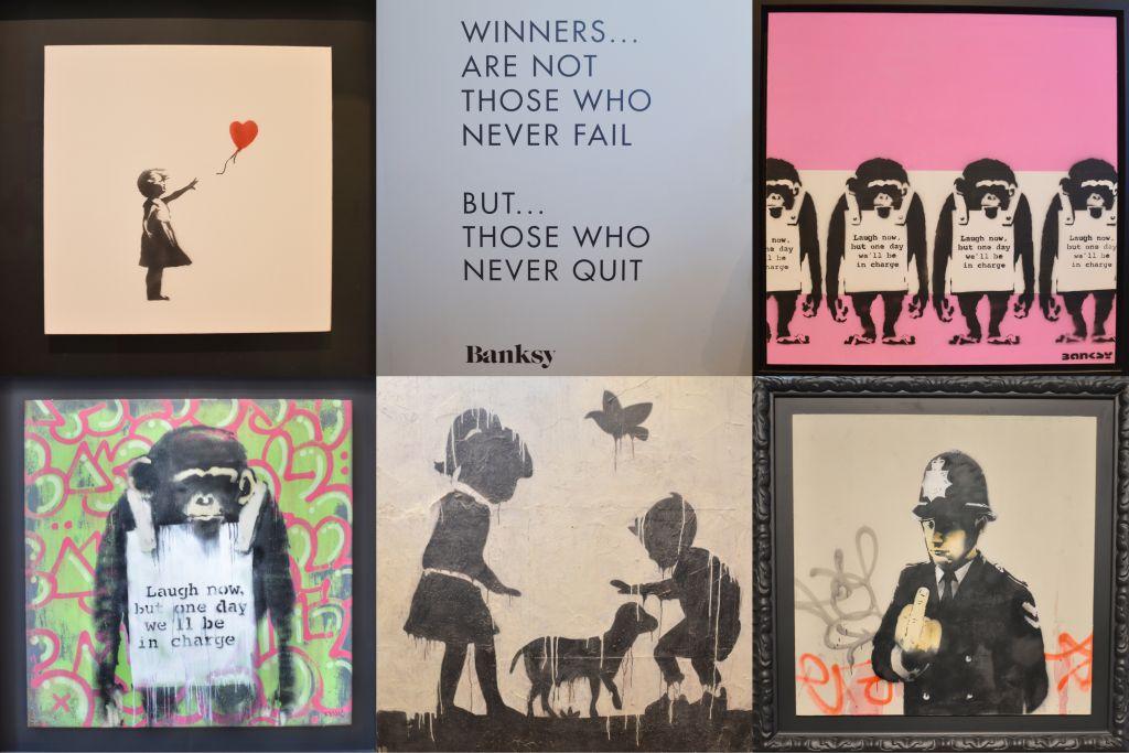 Banksy Laugh Now - Moco