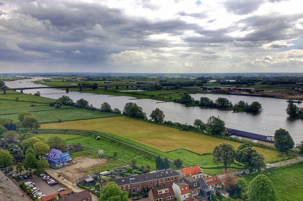 Uitzicht vanaf Cuneratoren - Rhenen