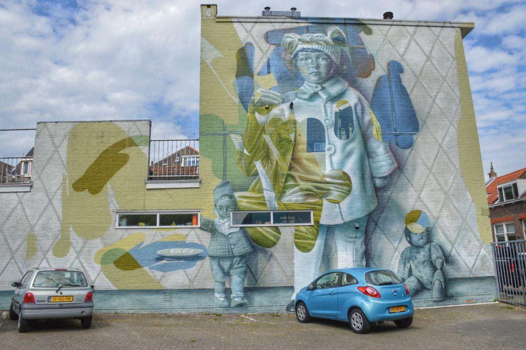 Muurschildering Telmo Miel - Dordrecht