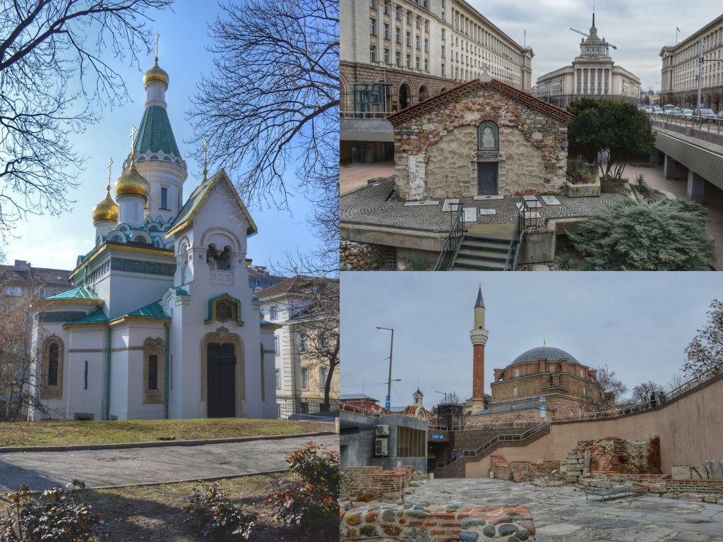Religieuze bouwwerken Sofia