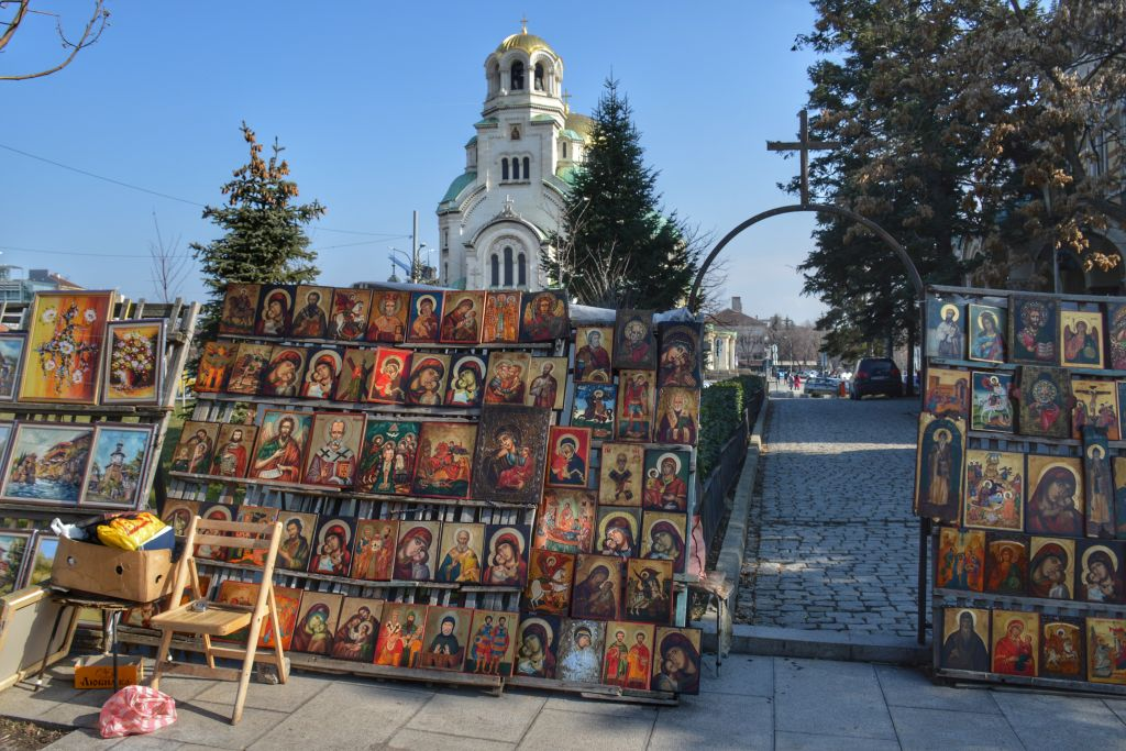 Kunst en kitsch in Sofia