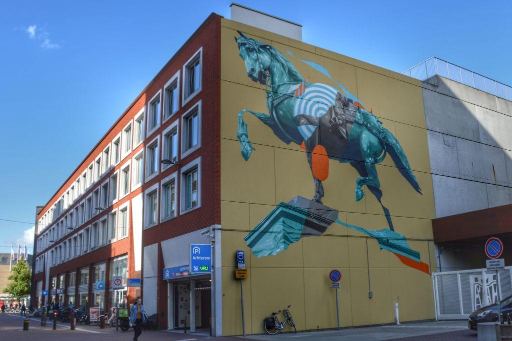 Muurschildering Ode aan de Synode - Dordrecht