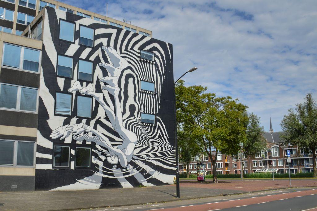 Bier & Brood Muurschildering Stadskantoor Dordrecht
