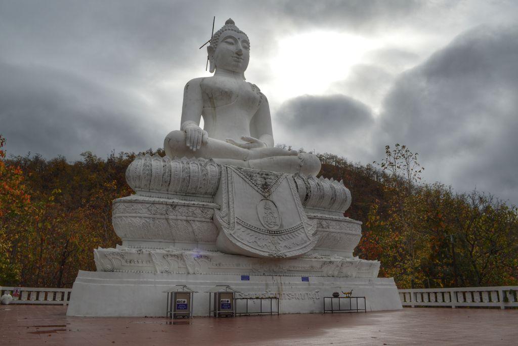 White Buddha of Pai