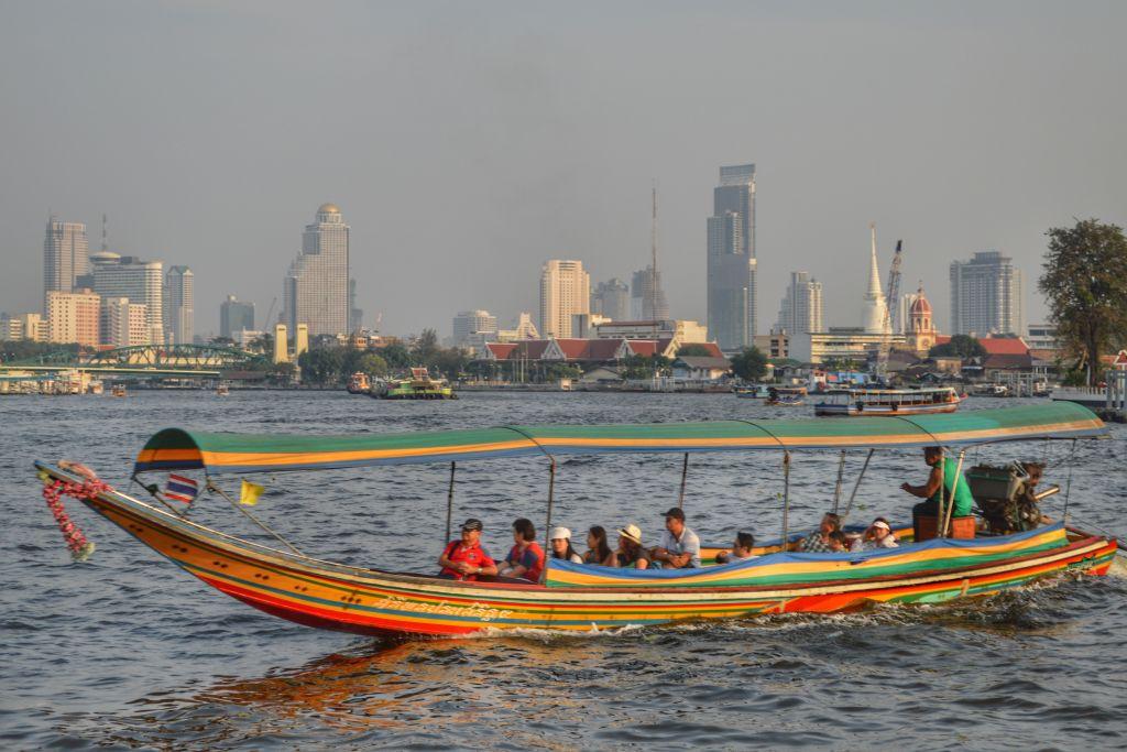 chao phraya rivier Bangkok