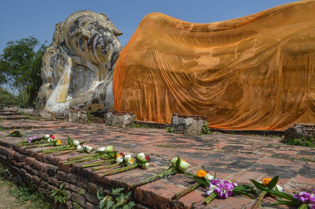 Wat Lokaya Sutharam Ayutthaya