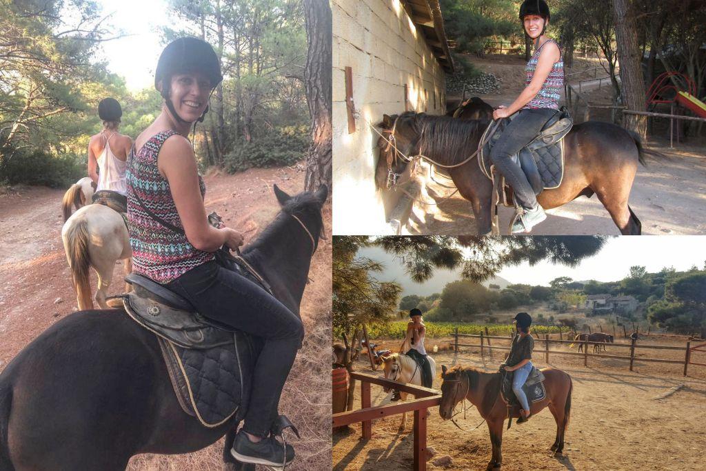 Paardrijden Samos