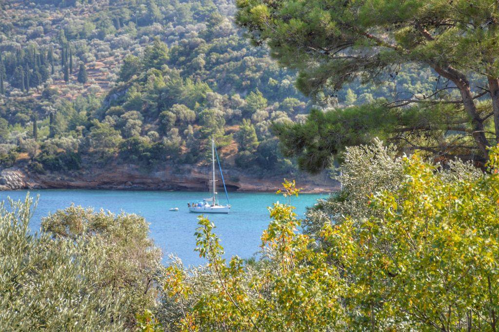 Groene baai Samos