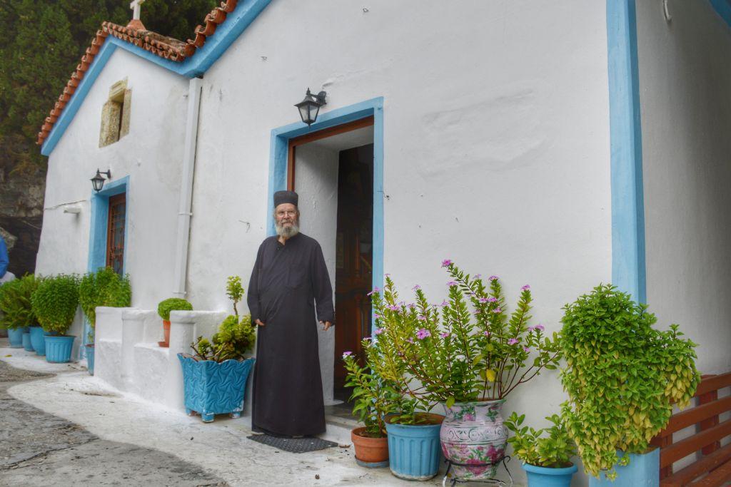 Panagia Spiliani klooster Samos
