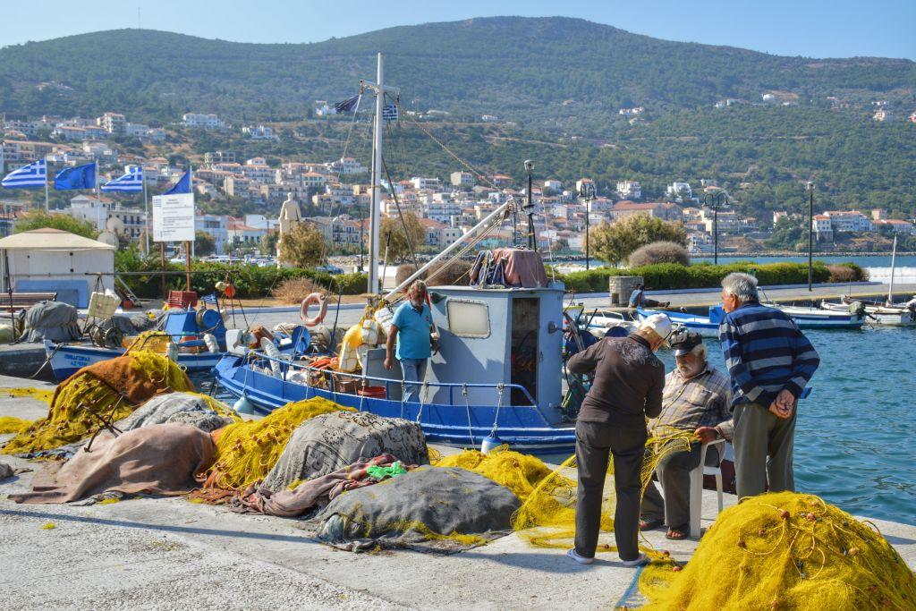 Haven Samos-stad
