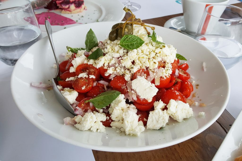 Griekse salade Samos