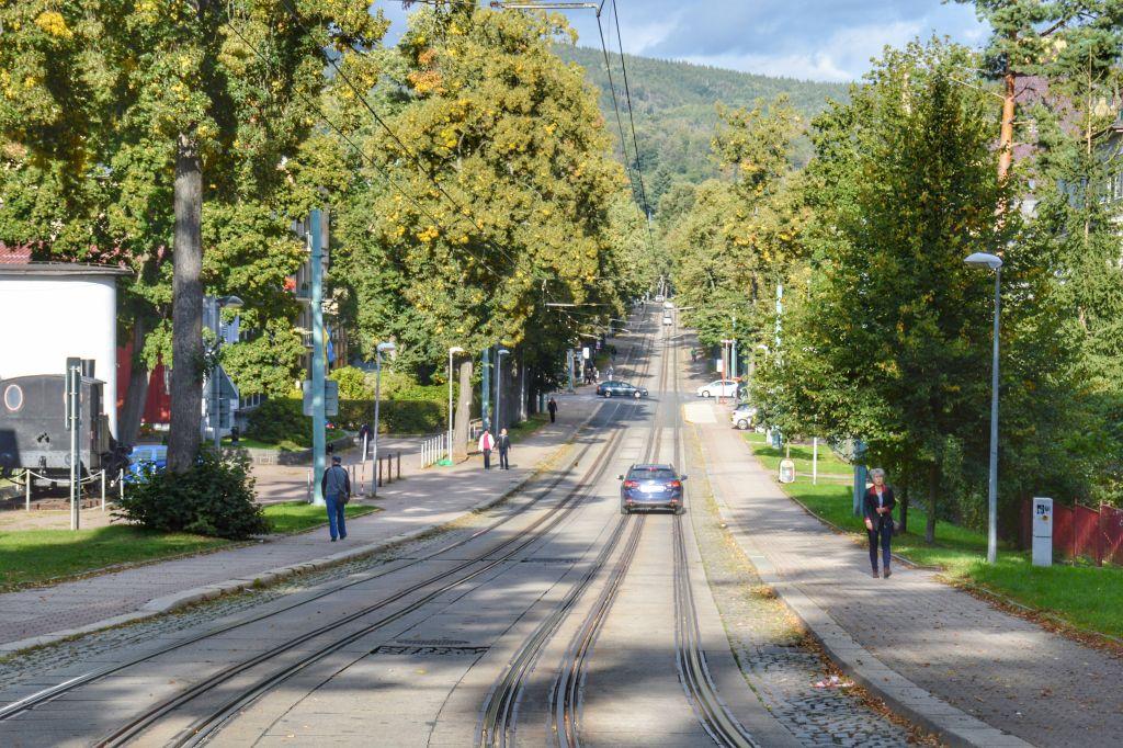 Statige bomenlaan Liberec