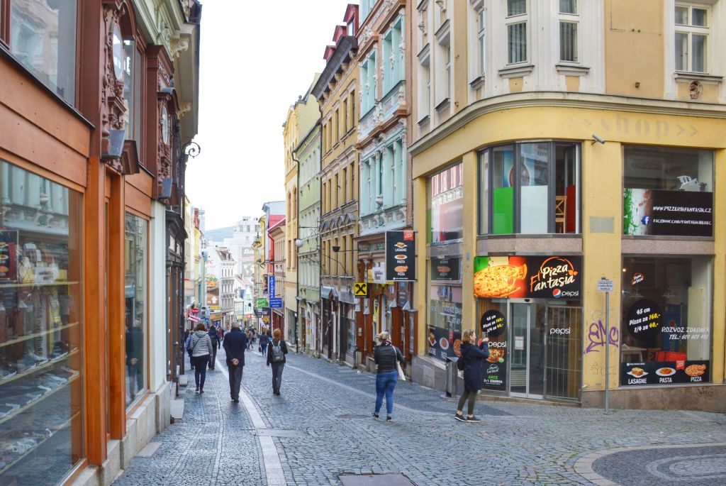 Winkelstraat Liberec